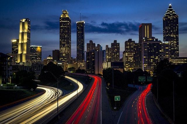 interstate traffic highway
